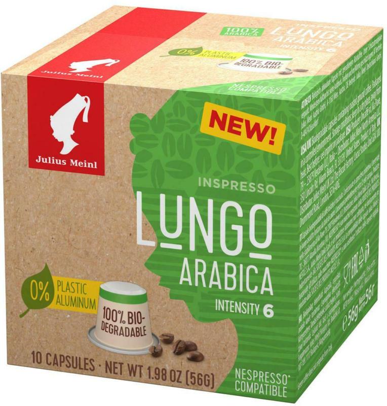 Julius Meinl Lungo Arabica Inspresso kompostierbar