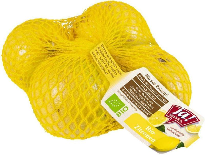 Ja! Natürlich Bio Zitronen