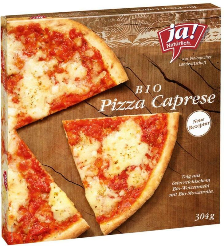 Ja! Natürlich Pizza Caprese