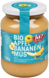 Ja! Natürlich Apfel-Bananenmus
