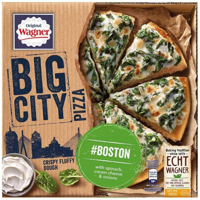 Wagner Big City Pizza Boston