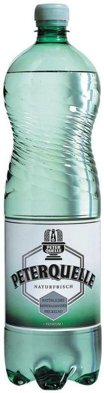 Peterquelle Mineralwasser Prickelnd