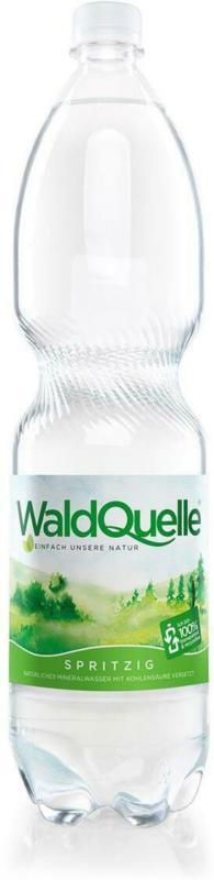 Waldquelle Mineralwasser Prickelnd