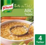 BILLA Knorr Bitte zu Tisch ABC Suppe