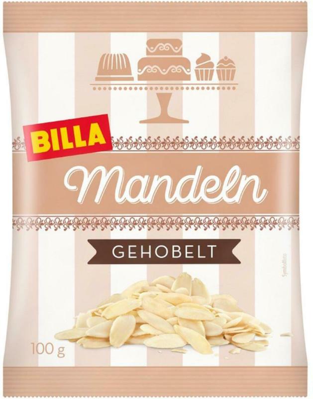 Billa Mandeln Gehobelt