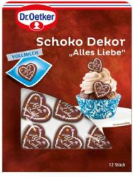 Dr. Oetker Schokodekor 'Alles Liebe'
