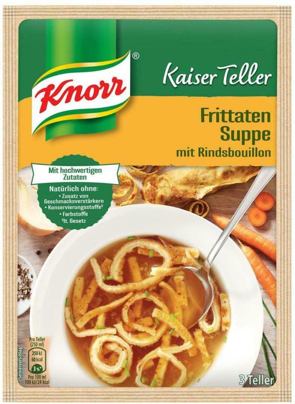 Knorr Kaiserteller Frittatensuppe