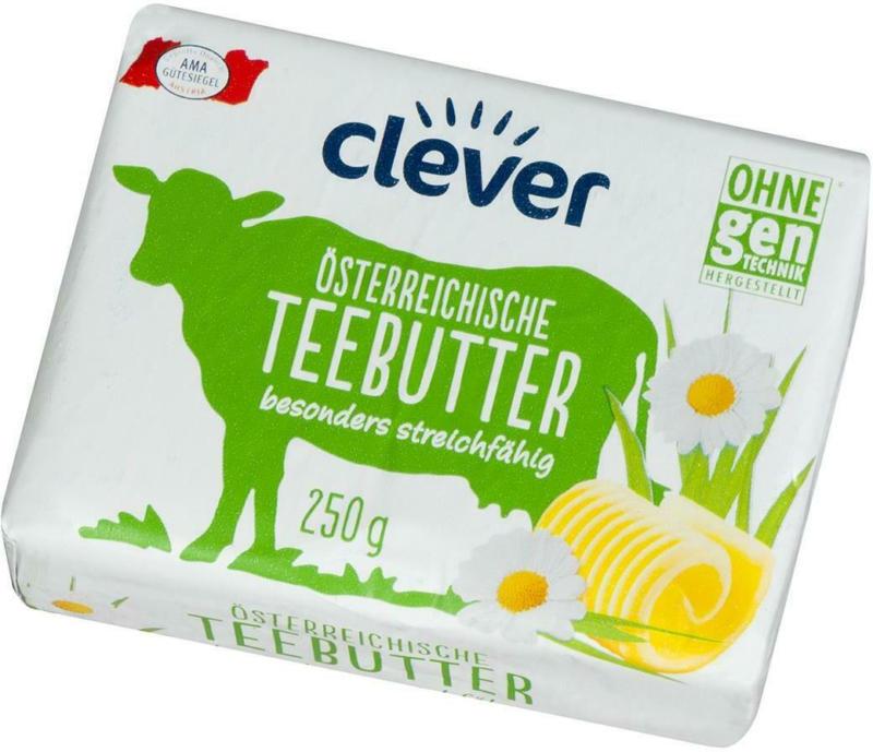 Clever Österreichische Teebutter