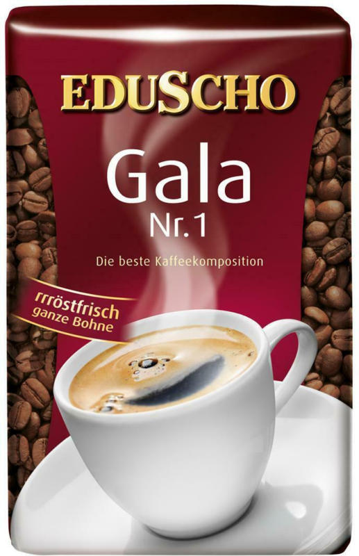 Eduscho Gala Nr. 1 Ganze Bohne
