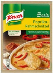 Knorr Basis für Paprika-Rahmschnitzel