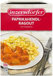 Inzersdorfer Paprikahendl-Ragout mit Nockerl