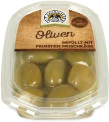 Oliven mit Frischkäse gefüllt - Die Käsemacher