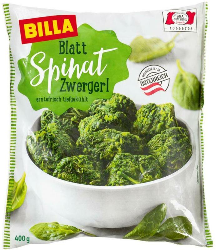 BILLA Blattspinat Zwergerl
