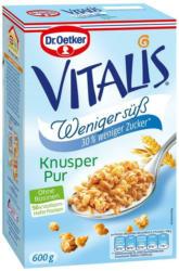 Dr. Oetker Vitalis Weniger Süß Knusper Pur Müsli