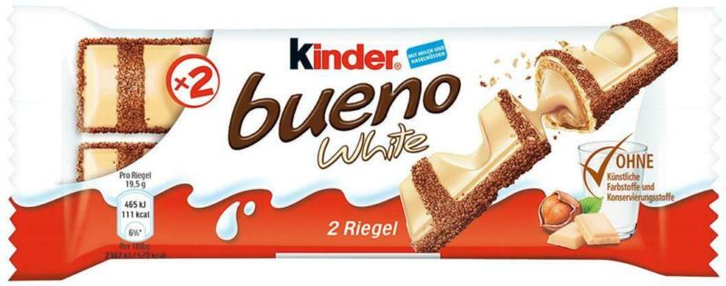 Kinder Bueno Single White