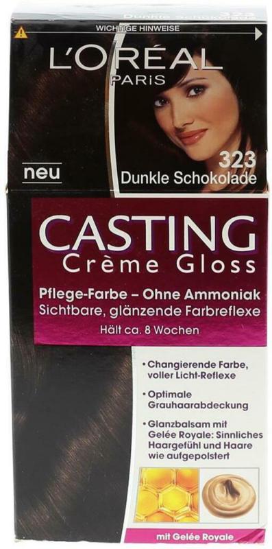 L'Oreal Casting Gloss Nr. 323 Dunkle Schokolade