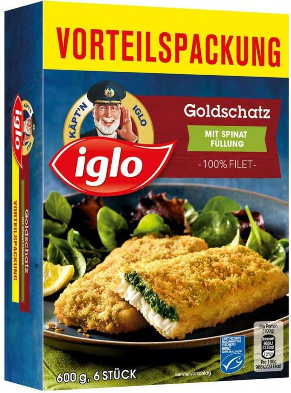Iglo Goldschatz Spinat Vorteilspackung