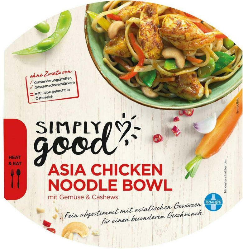 Simply Good Asia Noodle Bowl
