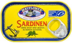 Mayflower Sardinen ohne Haut & Gräten in feinem Olivenöl