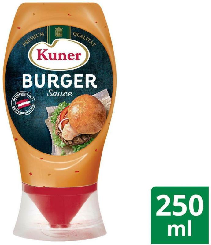 Kuner Burger Sauce Tuben-Flasche
