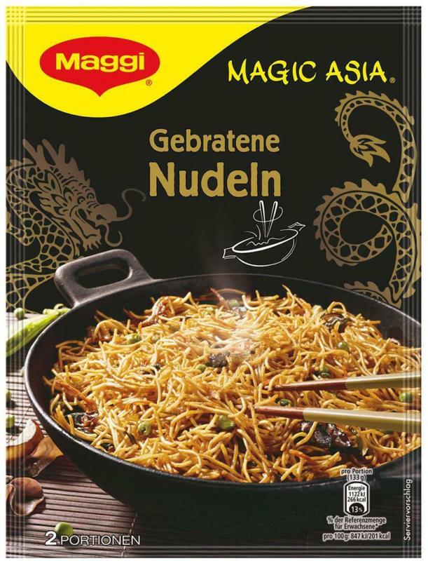 MAGGI Magic Asia Gebratene Nudeln Gemüse