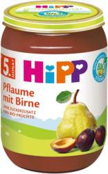 Hipp Pflaume mit Birne