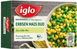 Iglo Erbsen Mais Duo