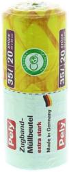 Pely Clean Multi Müllbeutel mit Zugband 35L