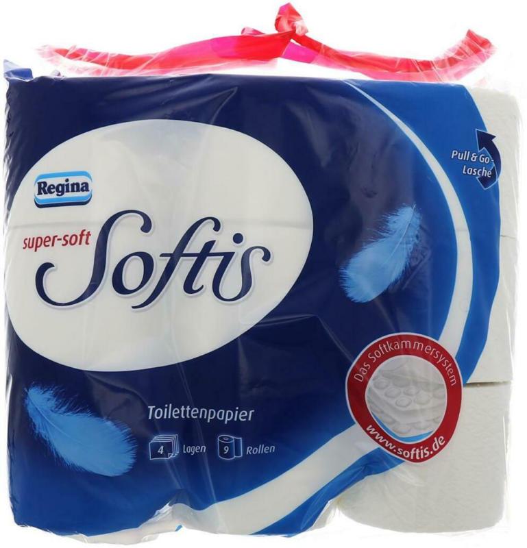 Regina Softis Toilettenpapier Weiß