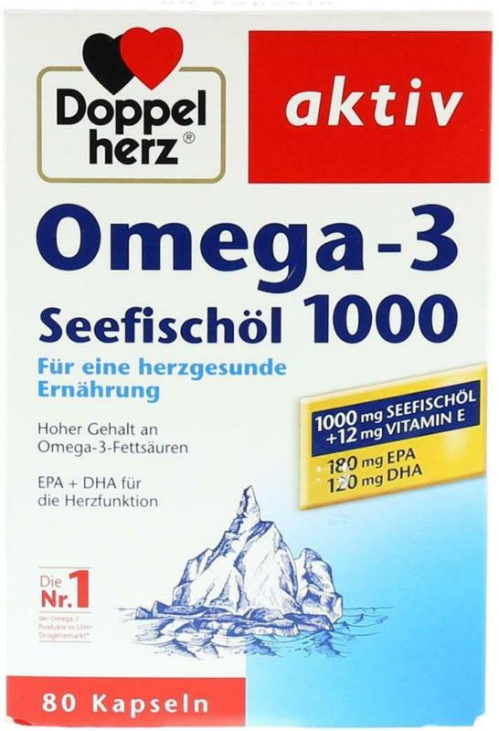 Doppelherz Seefischöl Omega 3
