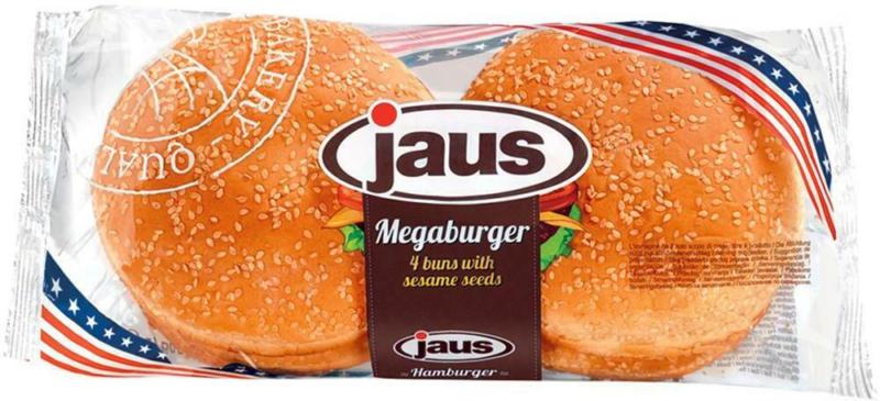 Jaus Mega Burger 4er