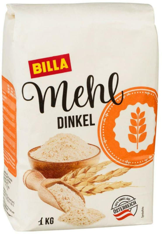 BILLA Mehl Dinkel