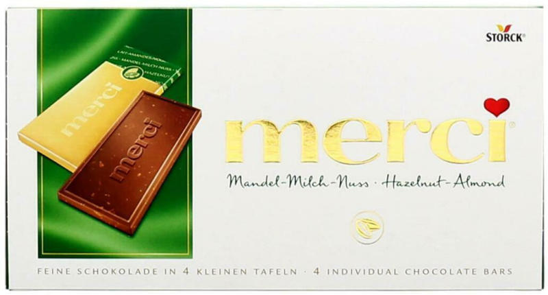 Merci Mandel-Milch-Nuss Tafel