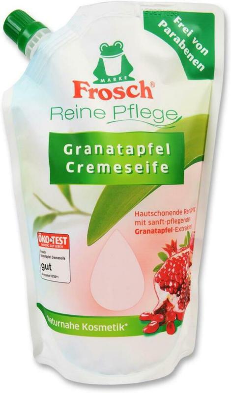 Frosch Cremeseife Granatapfel Nachfüllung