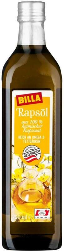 BILLA Rapsöl