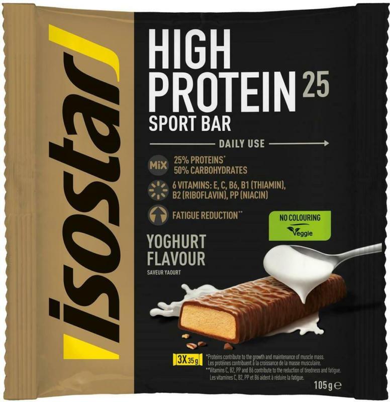 Isostar High Protein Riegel Joghurt 3er