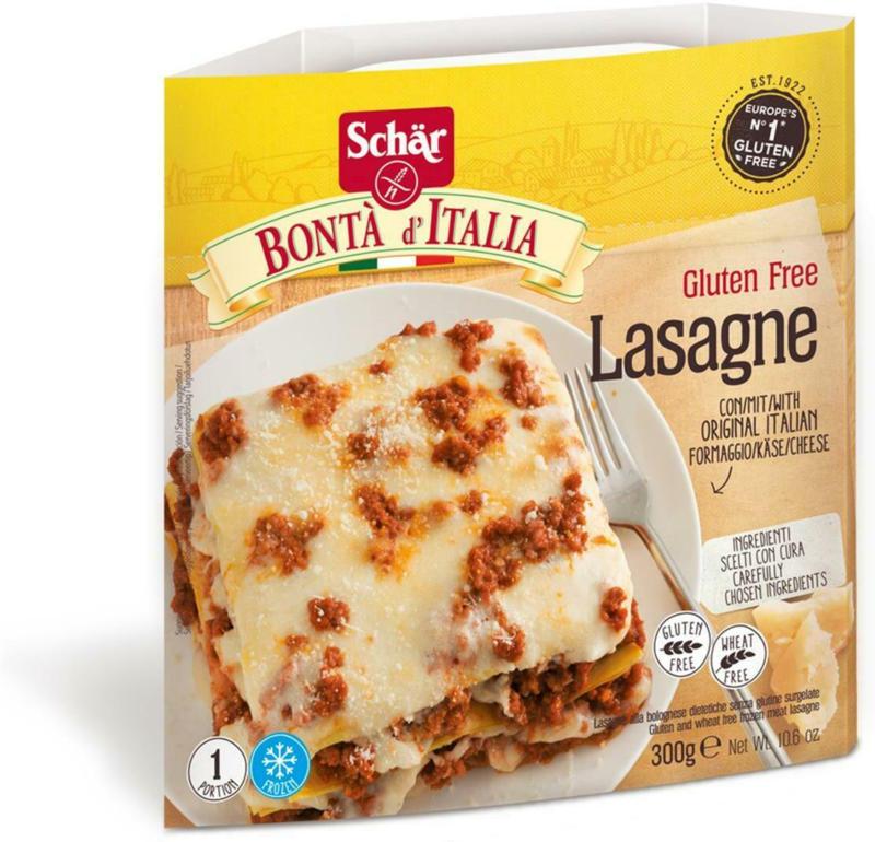 Schär glutenfreie Lasagne