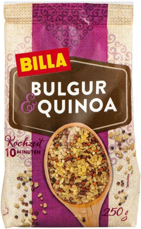 BILLA Bulgur und Quinoa
