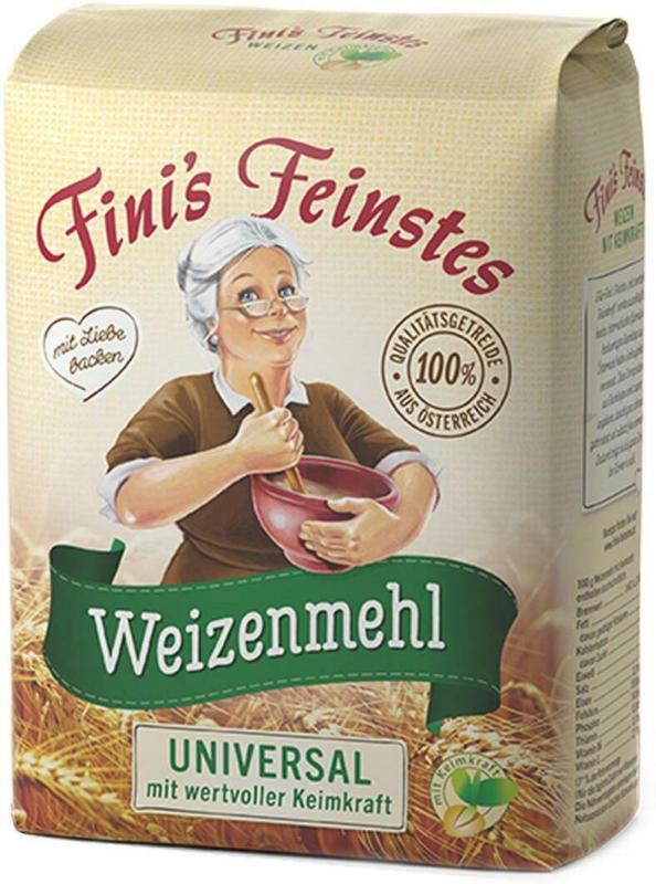 Fini's Feinstes Weizenmehl mit Keimkraft