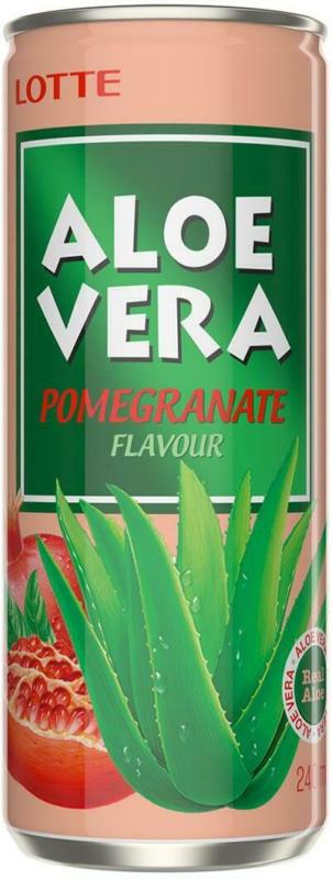 Lotte Aloe Vera Drink Granatapfel