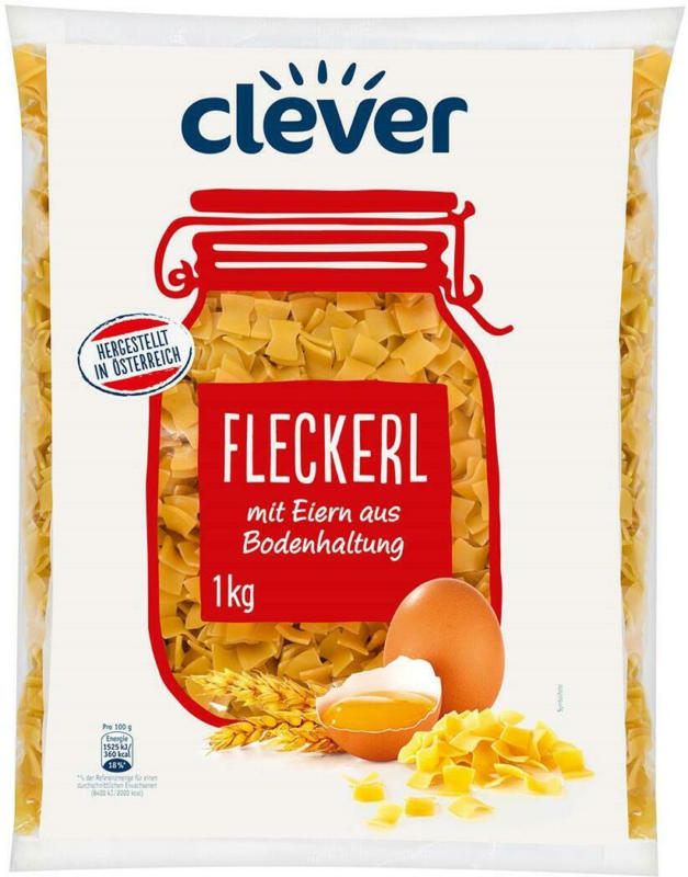 Clever Fleckerl
