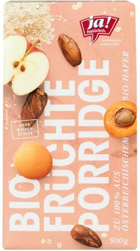 Ja! Natürlich Früchte Porridge