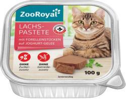 ZooRoyal Lachs-Pastete mit Forellenstücken auf Joghurt-Gelee