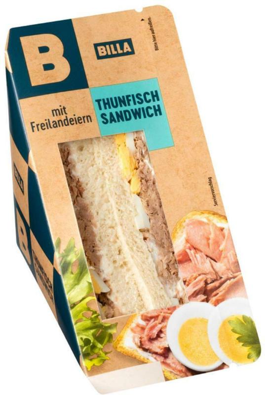 BILLA Beste Pause Thunfisch Sandwich