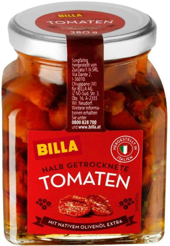 BILLA Halb Getrocknete Tomaten