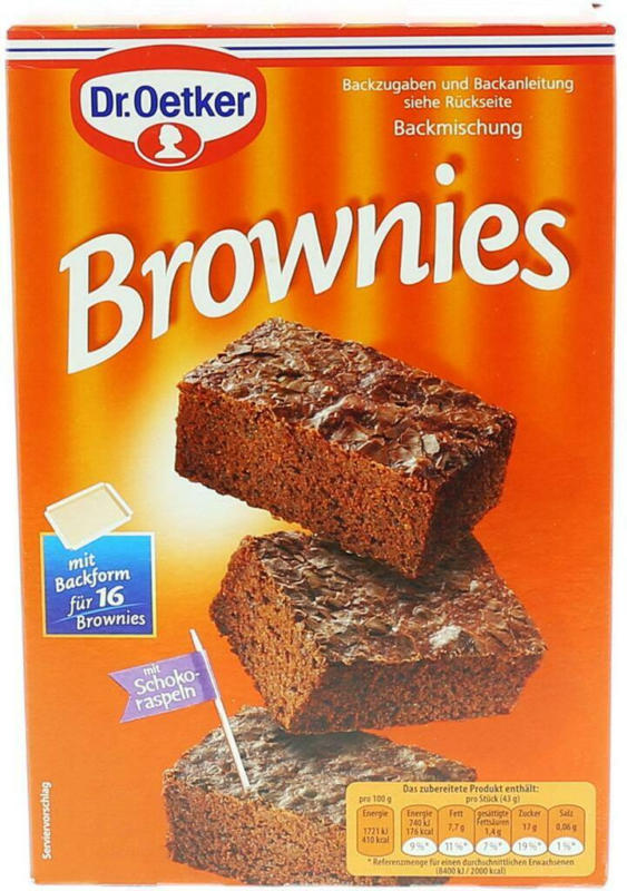 Dr. Oetker Brownies Backmischung