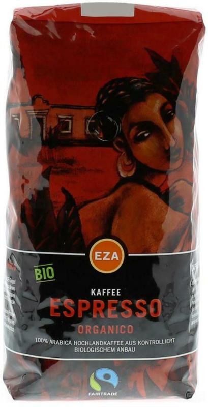 EZA Espresso Organico Ganze Bohne