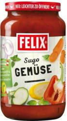 Felix Sugo mit Gemüse