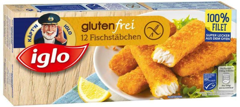 Iglo Fischstäbchen Glutenfrei