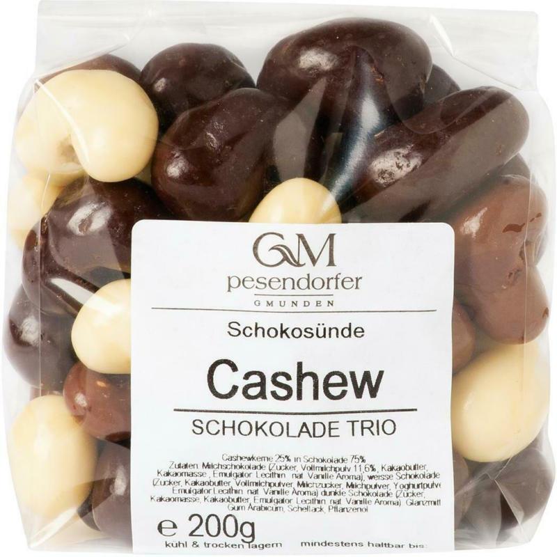Pesendorfer Cashew in Schokotrio